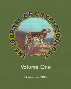 The Journal of Cryptozoology - Volume One