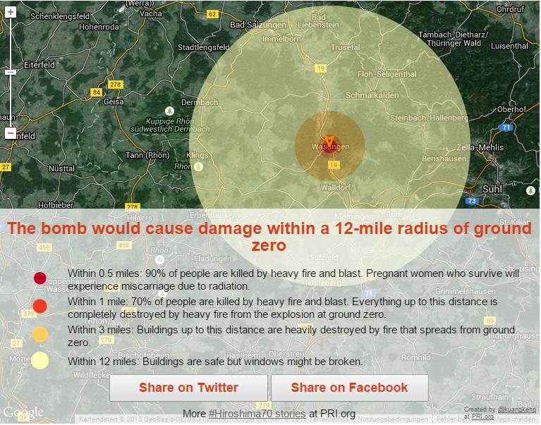 Atombombe auf Wasungen