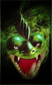Drachen-Poster