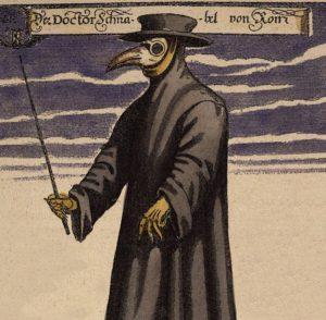 Pestdoktor im Mittelalter