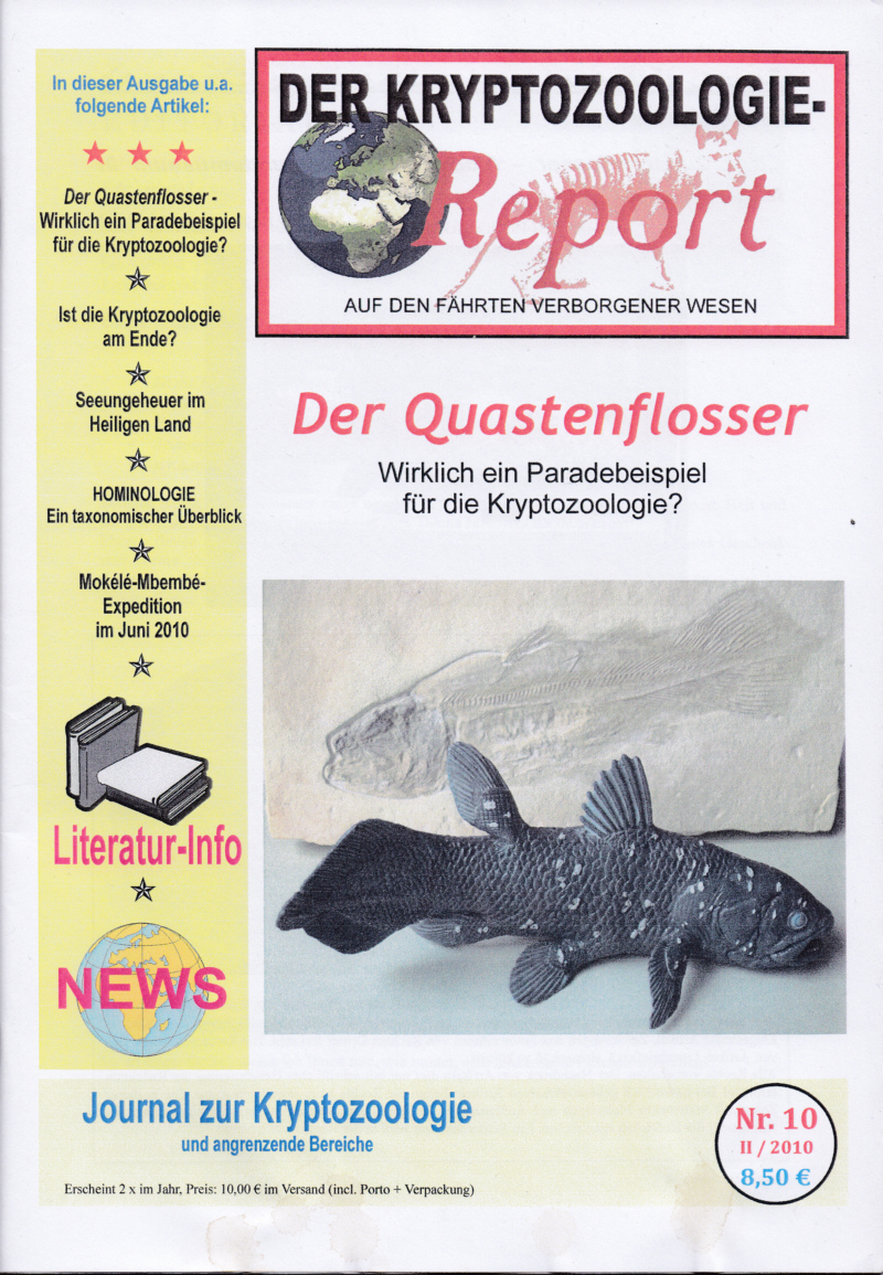 Der Kryptozoologie-Report Nr. 10