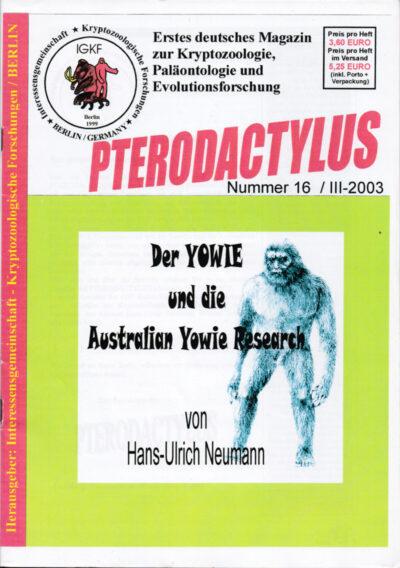 Pterodactylus - Ausgabe 16