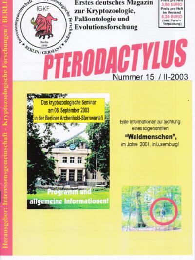 Pterodactylus - Ausgabe 15