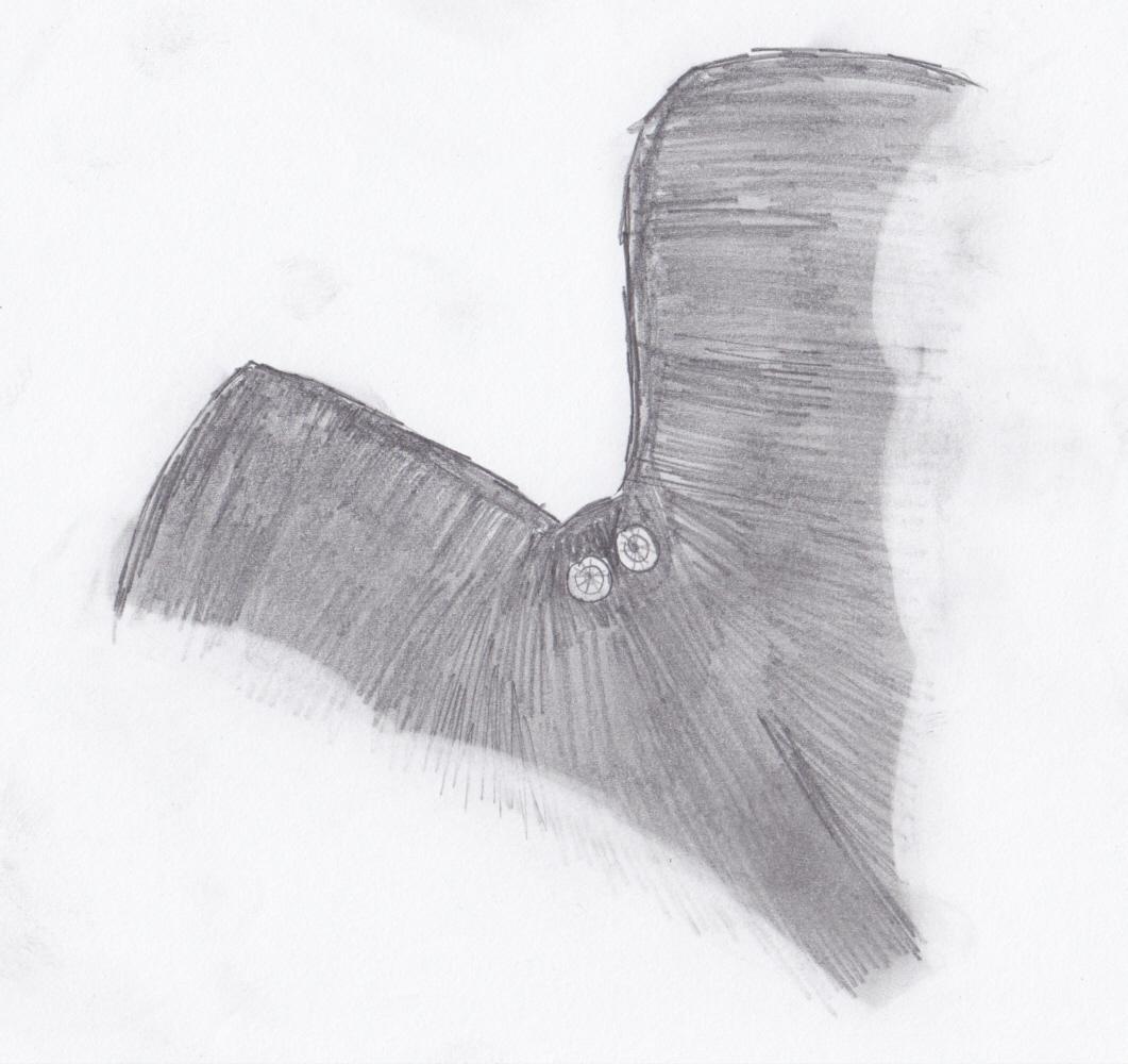 Mothman im Flug