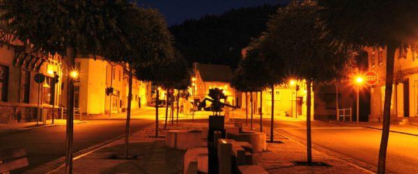 Nacht am Obertor in Wasungen