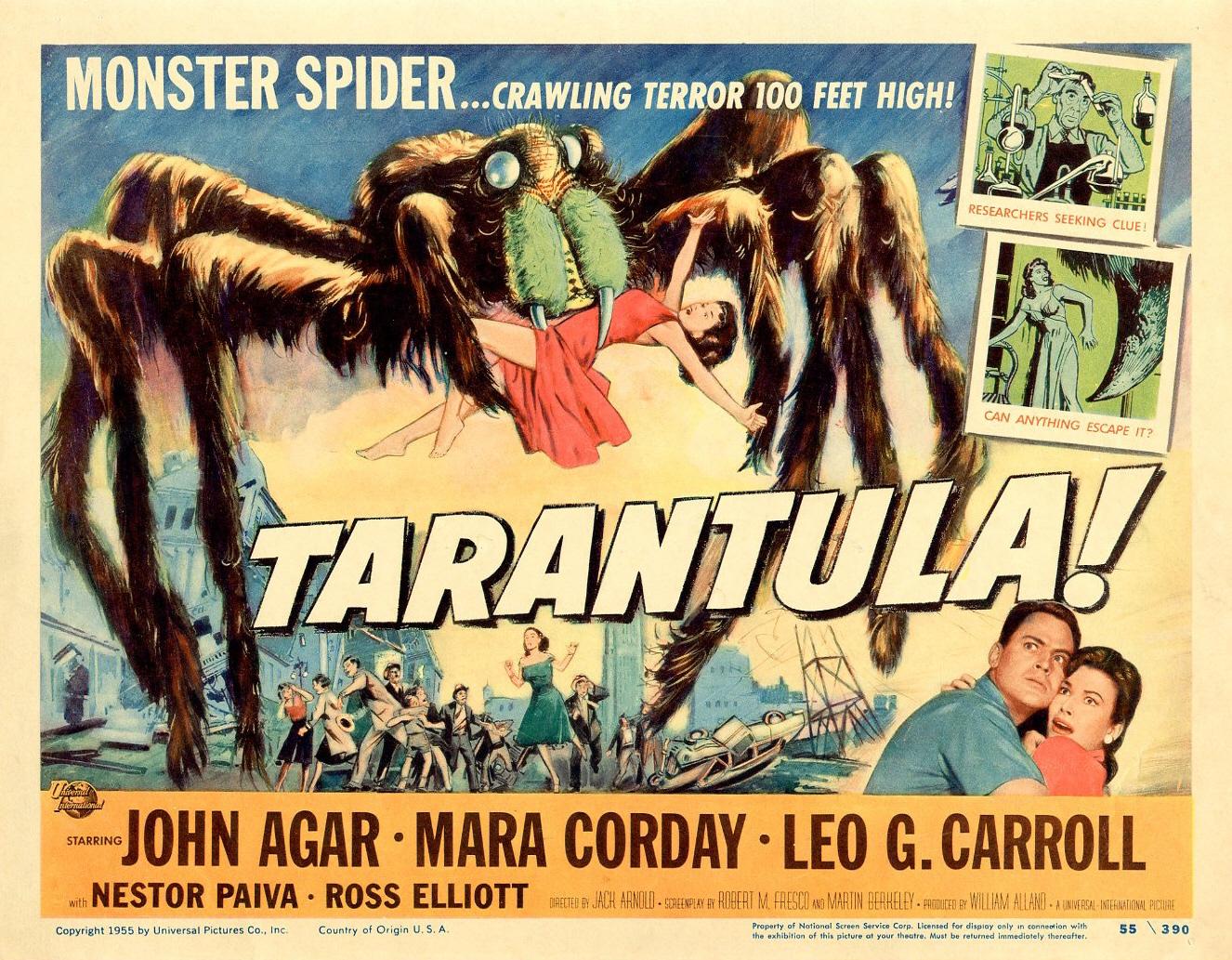 Tarantula (Filmposter 1955)