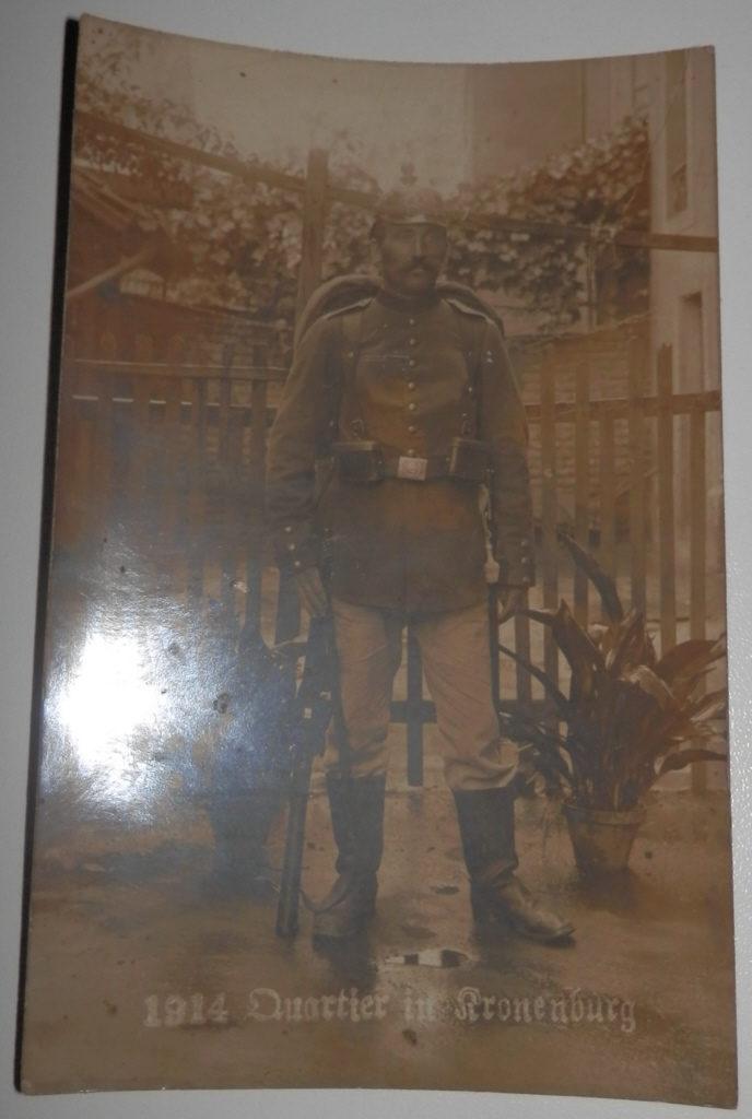 Originalfoto, Deutscher Soldat 1914