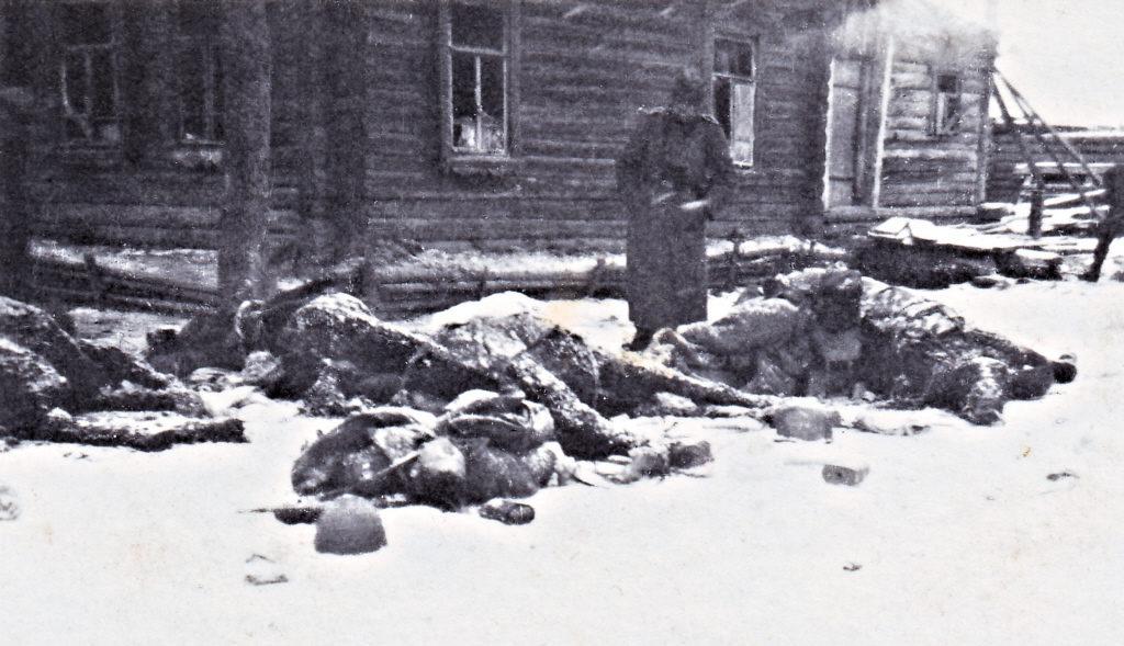 Wehrmachtssoldat an der Ostfront
