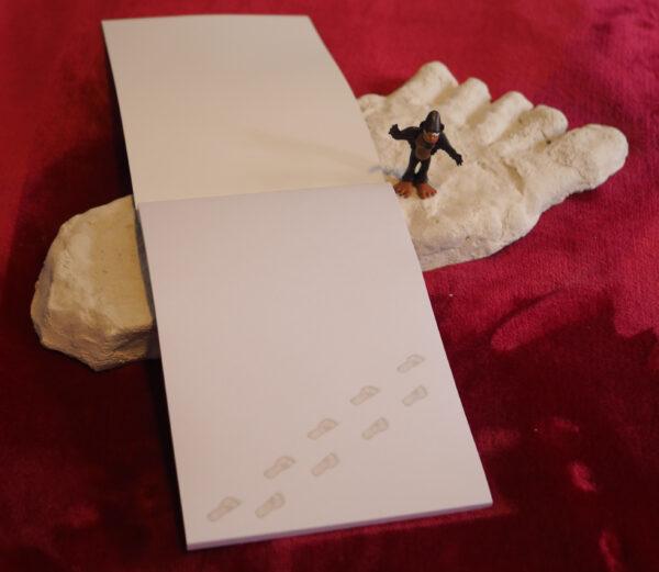 Bigfoot Schreibblock (Innenseiten)