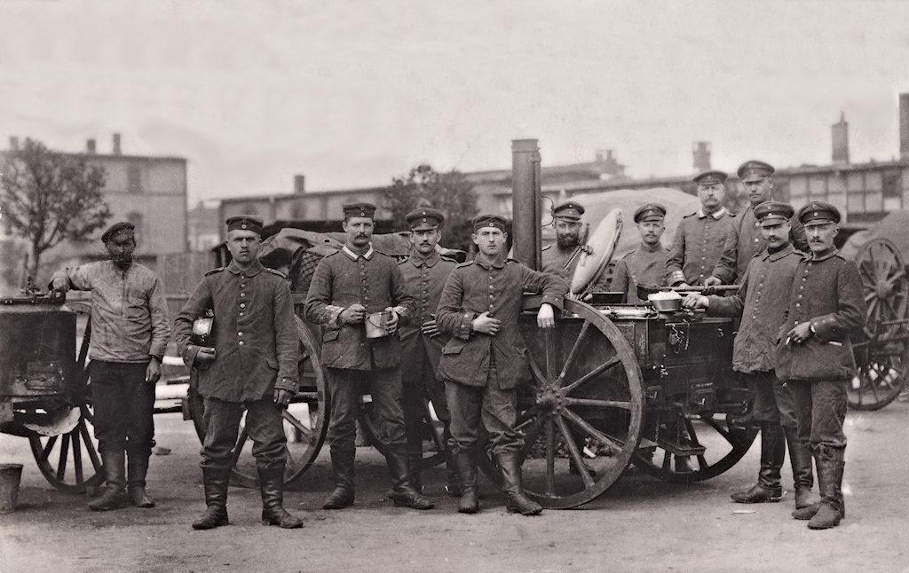 Gulaschkanone, 1917