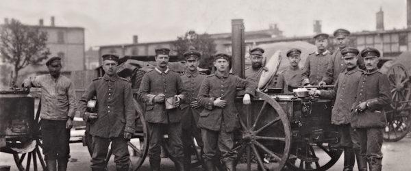 Gulaschkanone an der Westfront, 1917