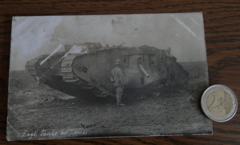 Britischer Mark II Tank, 1917