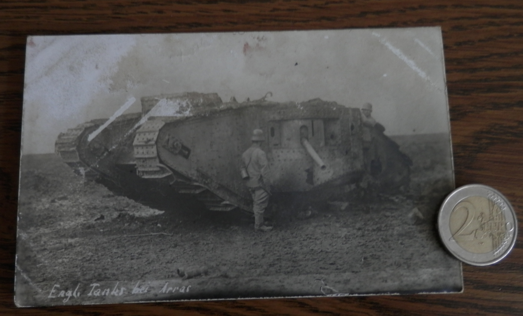 Originalfoto: Mark II Tank, 1917
