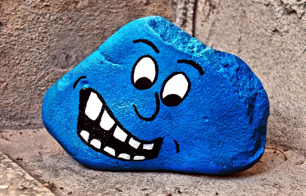 Blauer Steinkopf