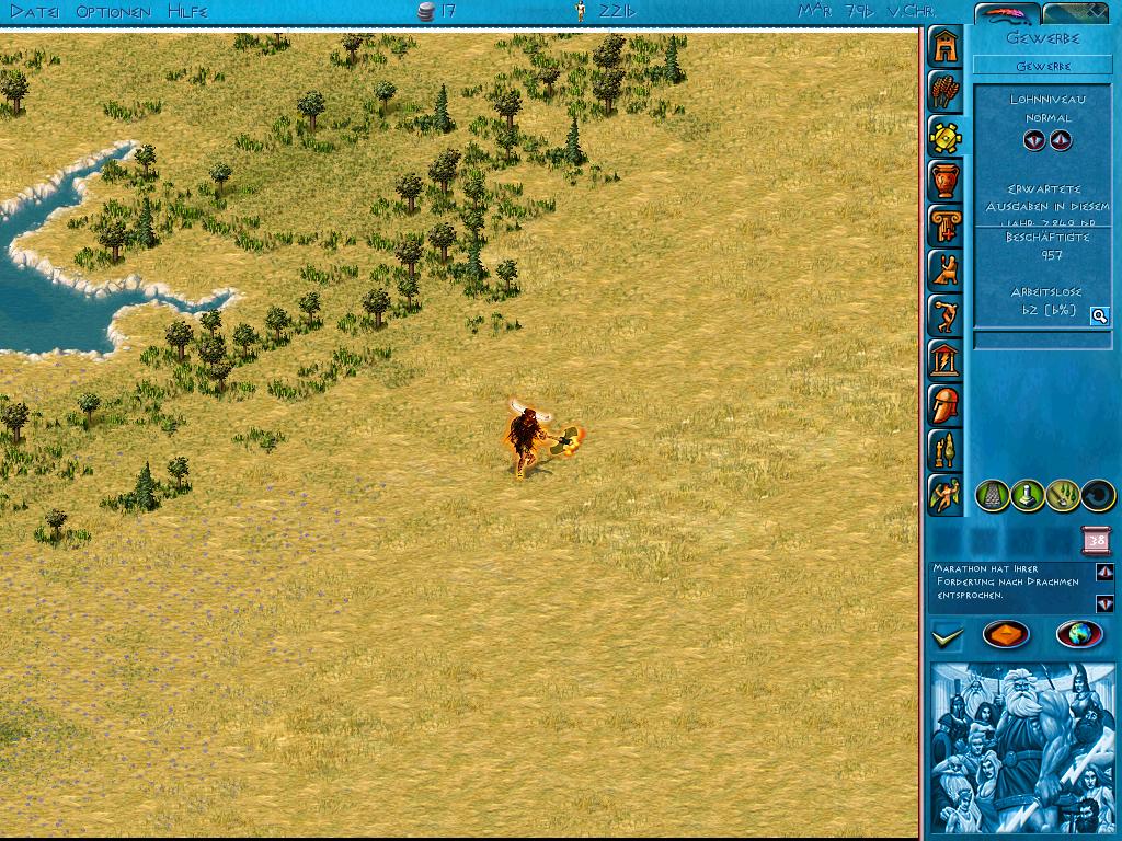 Angriff des Minotaurus