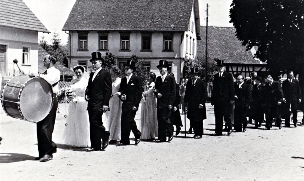 Hochzeit auf dem Dorf