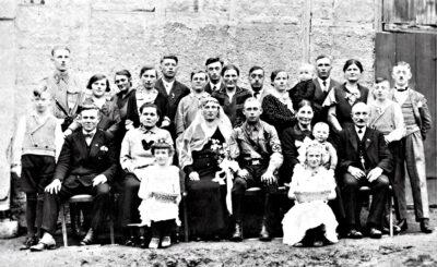 SA-Hochzeit, 1933