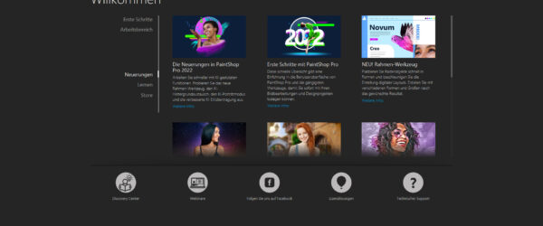 Das neue PaintShop Pro 2022 ist da