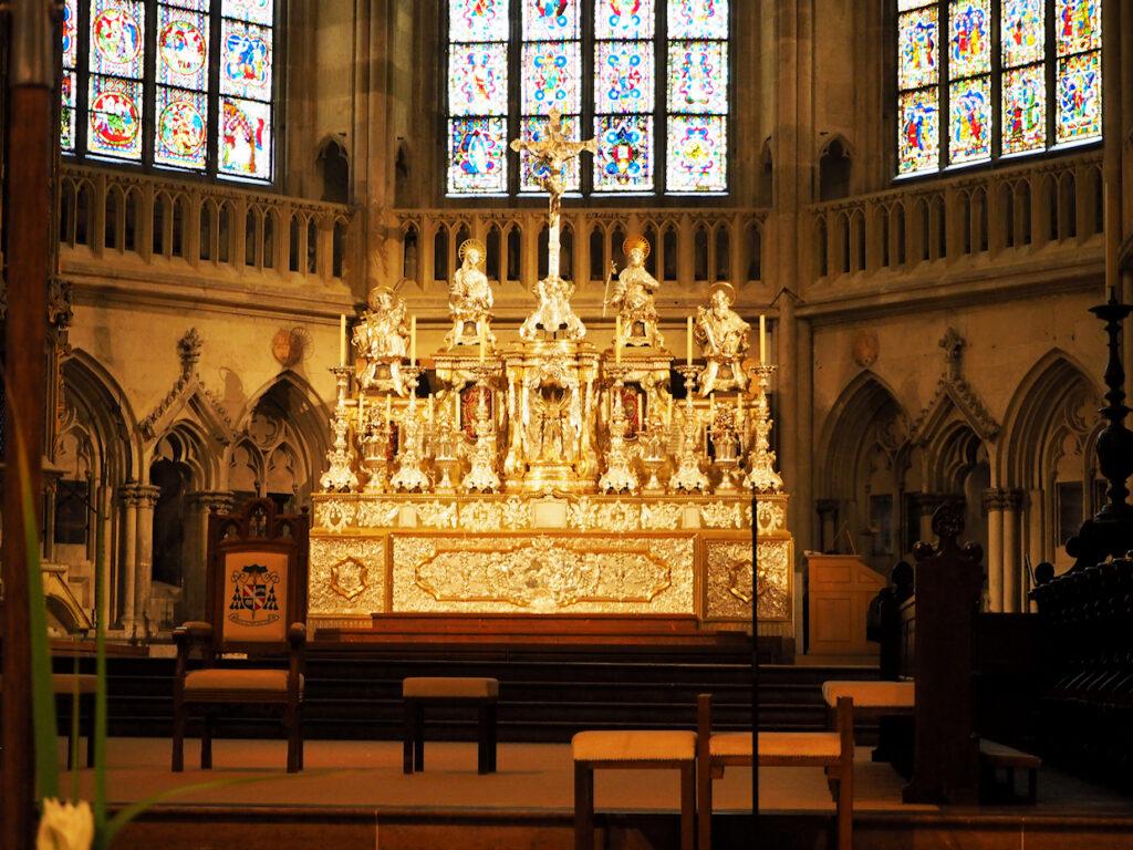 Altar im Dom zu Regensburg
