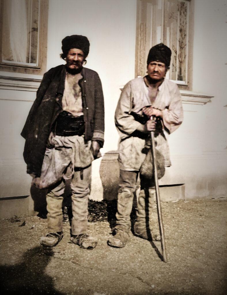 Pferdezigeuner, Januar 1900